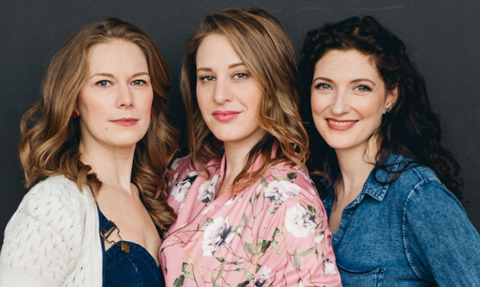 The faces behind FILMCOOP Inc., our Toronto based Film Collective and Production Company. Emily Andrews, Jen Pogue & Laura Nordin. Photo by LV Imagery