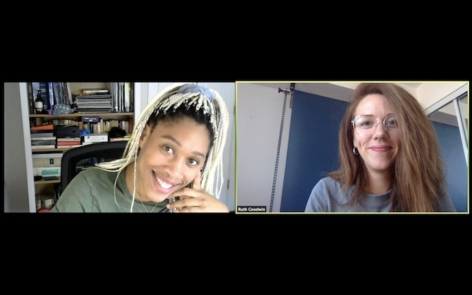In addition to acting, I'm also a director and producer. So, when I'm not on Private Eyes I'm working on a number of independent projects which requires a lot of Zoom Meetings right now! Here is me and my producing partner, Aisha Evelyna, talking about our new short film, Strangers which I'm currently directing.