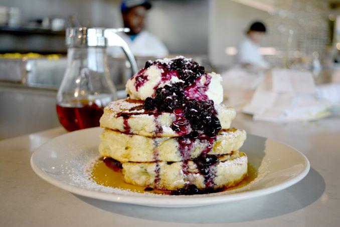 Mildreds Blueberry Buttermilk Pancakes 5