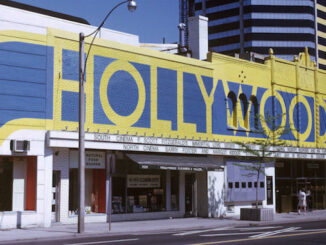 View of the Hollywood Theatre on Yonge Street just south of Heath Street