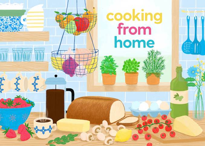Cooking From Home - Cover