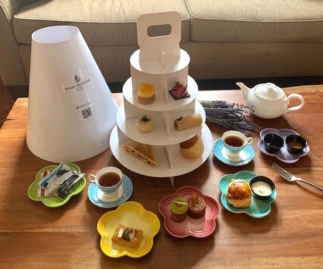 Four Seasons Hotel's Afternoon Tea
