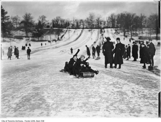 1906 - 1910 - High Park toboggan runs copy 2