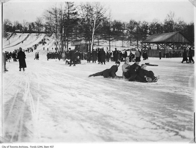 1906 - 1910 - High Park toboggan runs copy