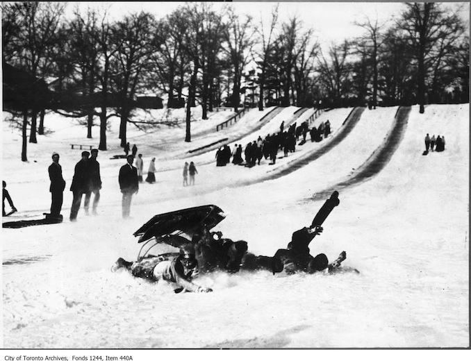1908 - 1912 - High Park toboggan slides