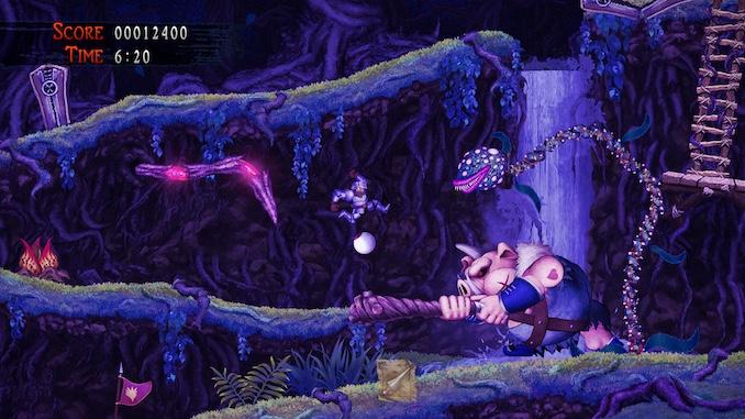 Ghosts 'n Goblins: Resurrection (Switch) Review: ROM Hack 'n Slash