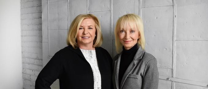 Judy Lewis (L) and Deborah Weinstein, partners in Strategic Objectives