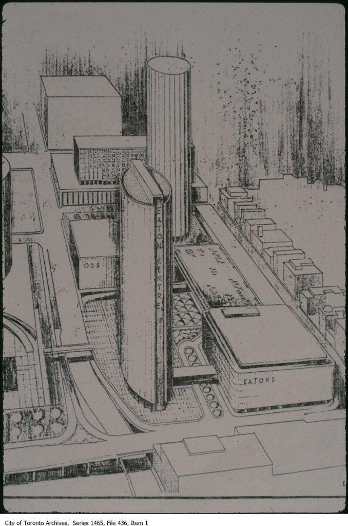 1968 - Proposed Eaton Centre