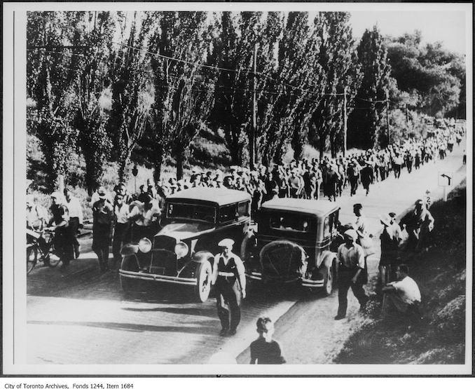 The On-To-Ottawa Trek, 1936