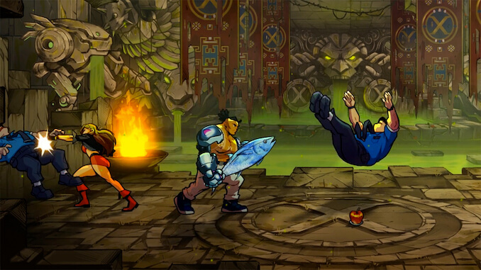 Streets of Rage: Mr. X Nightmare (DLC) Review: Go Straight