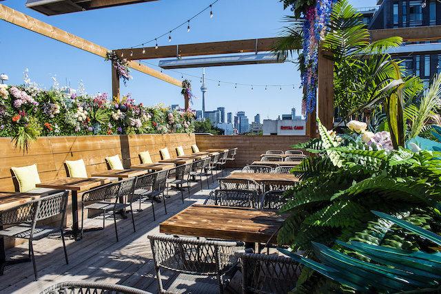 Skyflower patio
