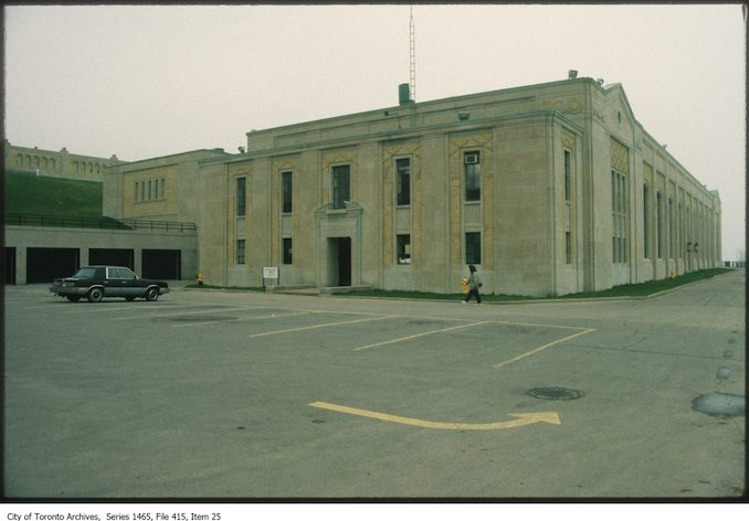 1980 - R.C. Harris Water Filtration Plant looking south-east
