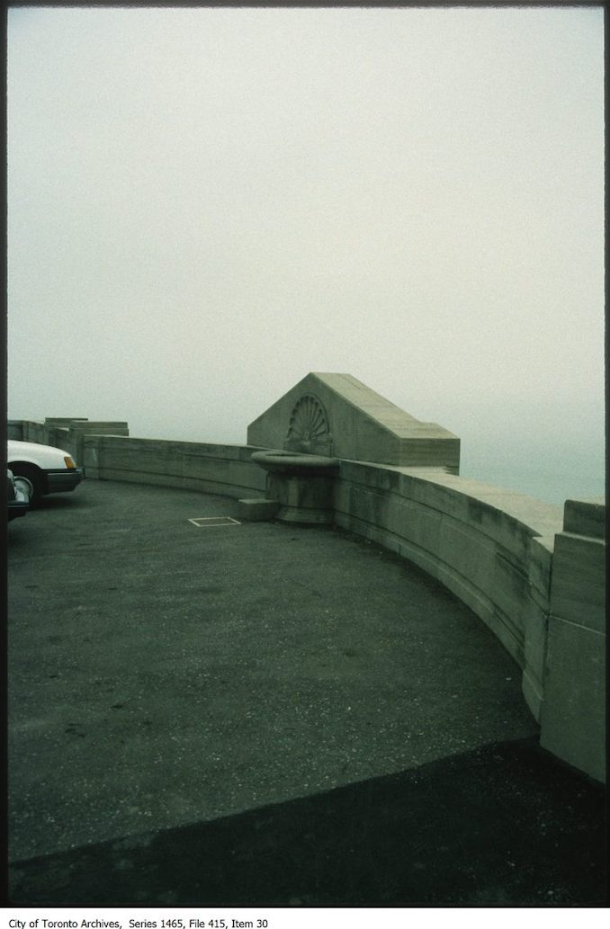 1980s - Detail of R.C. Harris Water Filtration Plant lookingsouth-east