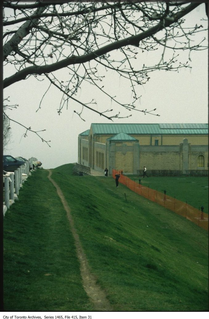 1980s - East end of R.C. Harris Water Filtration Plant lookingsouth