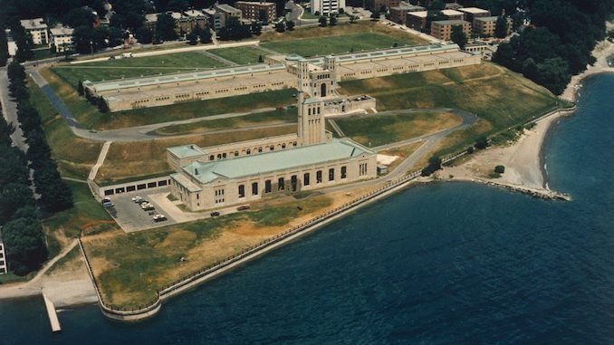 1986 - R.C. Harris Water Filtration Plant looking north