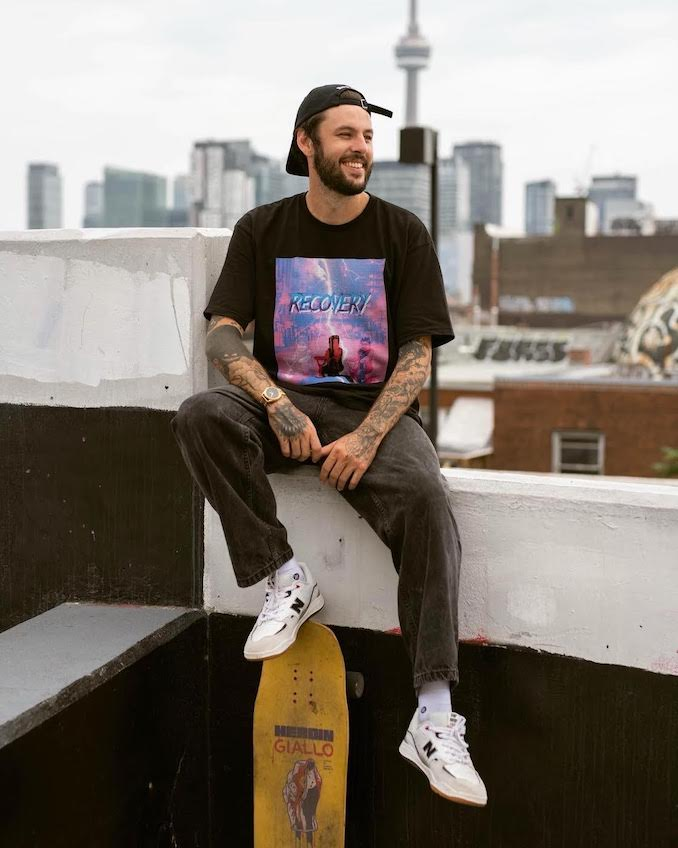 Recovery Skate Co. Brandon Laferriere