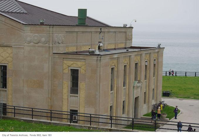 2011 - Exterior, R.C. Harris water treatment plant