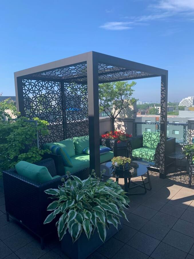 Rooftop Landscape Design