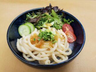 Chilled Garlic Sesame Udon Noodles